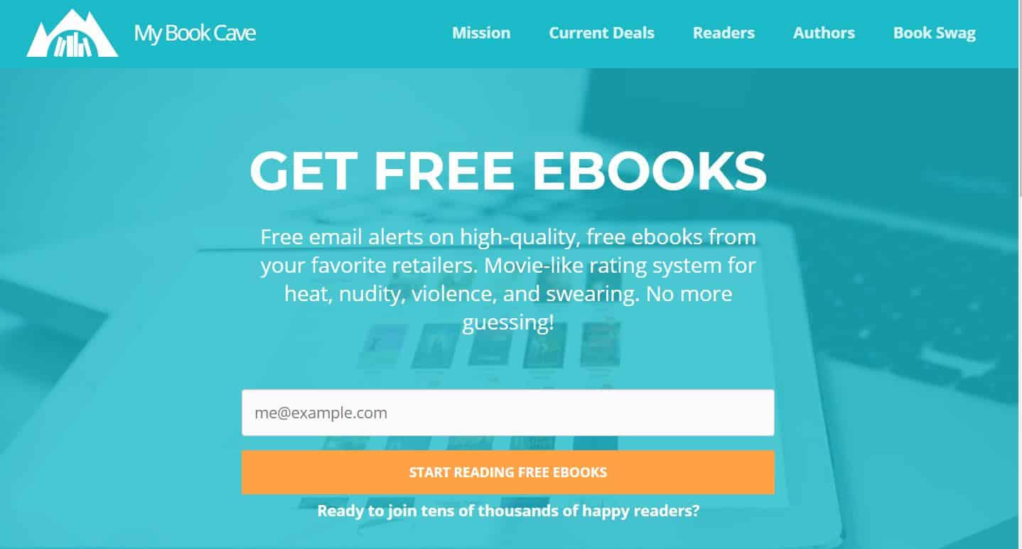 y Book Cave content-rated ebooks